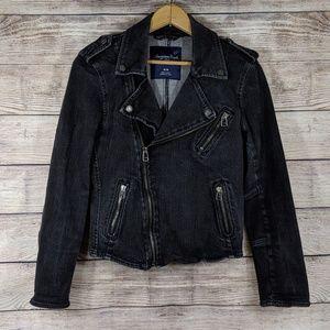 American Eagle Denim Moto jacket